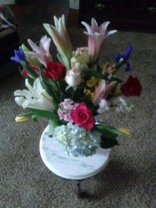 Fresh Vase for the nurses station at Froedtert Hospital.