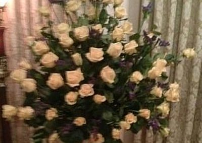 Fresh Sympathy Spray of all Roses