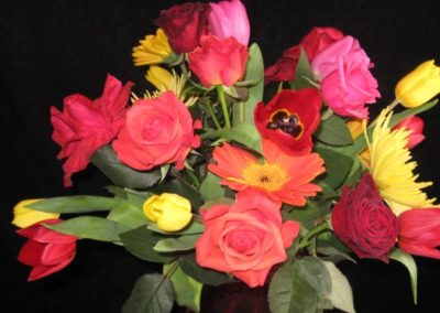 Colorful Thank You Roses
