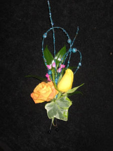 Boutonnier for Shay at Marquette University High School Prom, Milwaukee, WI.