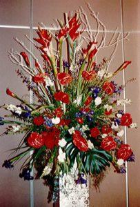 Patriotic Floral Display