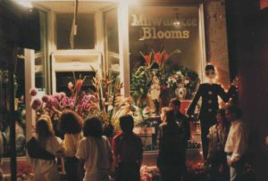 Bastille Festival in front of Milwaukee Blooms