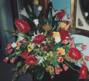 Breathtaking Funeral Arrangement