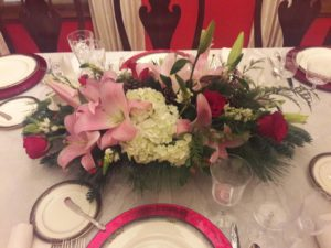 Chistmas Floral Centerpieces